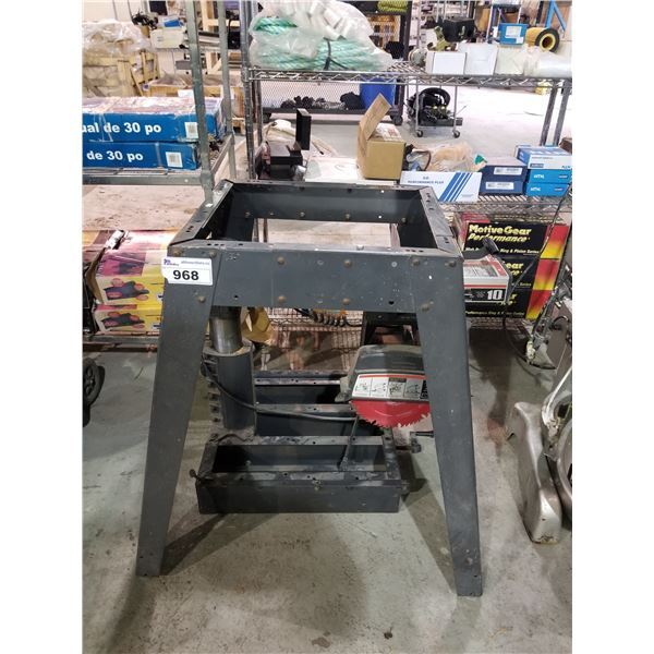 CRAFTSMAN RADIAL SAW WITH STAND
