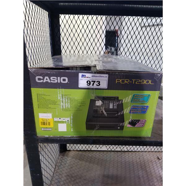 CASIO PCR-T290L ELECTRONIC CASH REGISTER