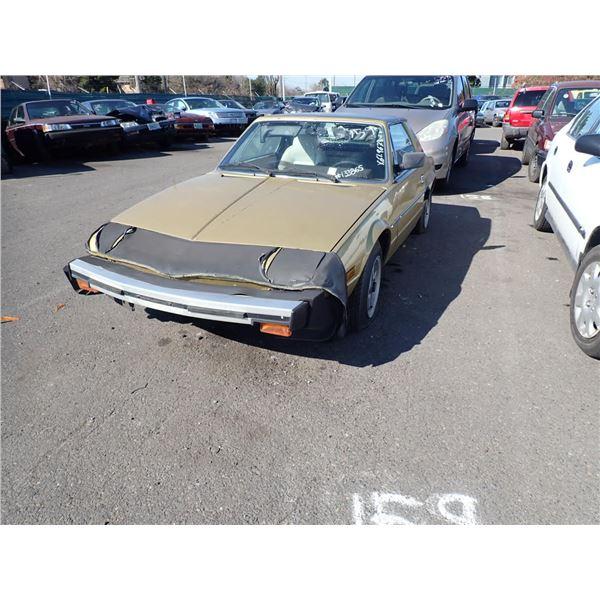 1980 Fiat X 1/9