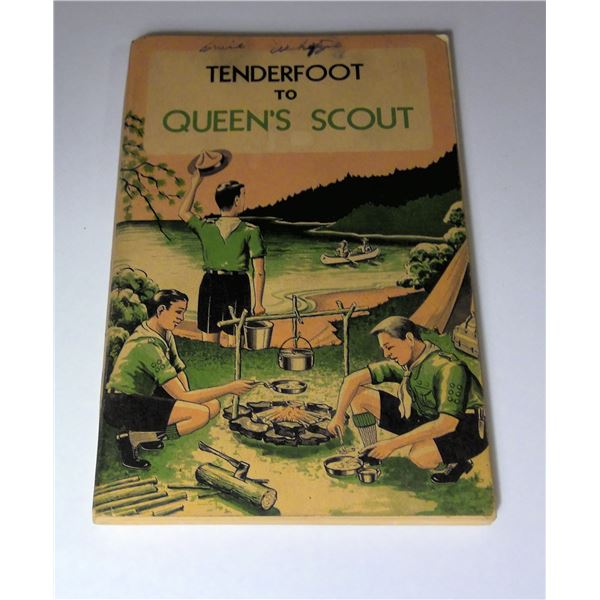 From Tenderfoot To Queen's Scouts