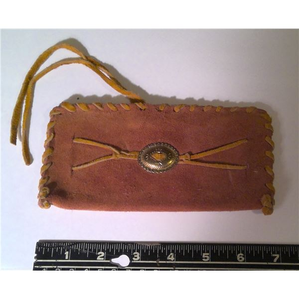 Vintage Handcrafted Leather billfold / wallet