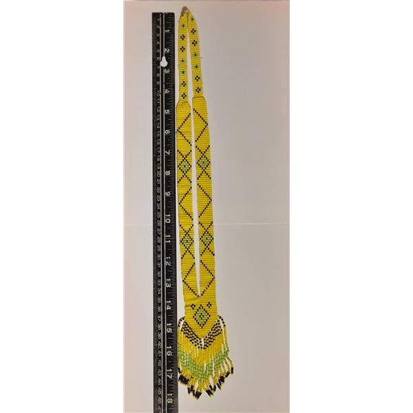 Vintage 1st Nations Beaded Necklace