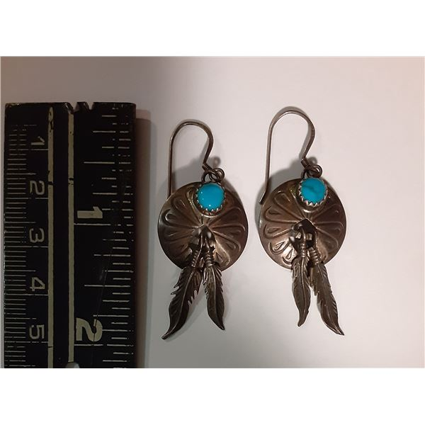 Sterling Silver 1st Nations Earings