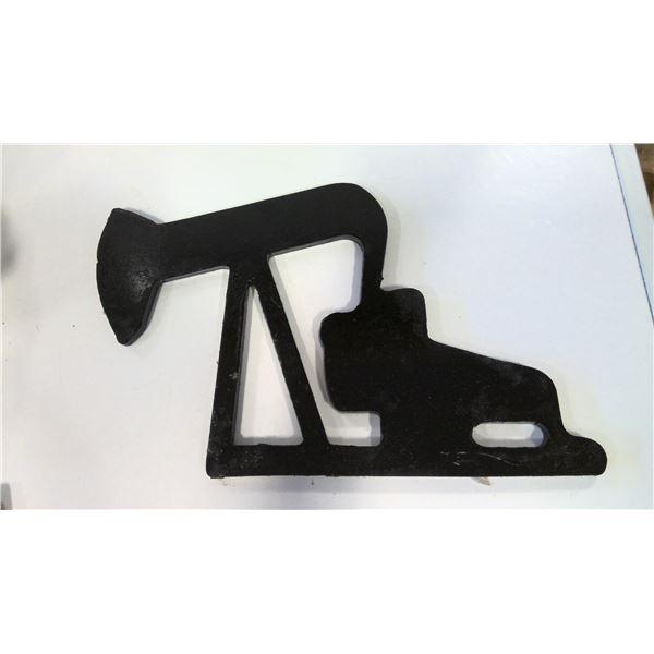 Solid Steel Pump Jack