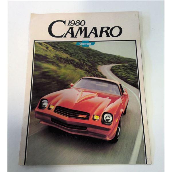 1980 Camaro Sales Brochure
