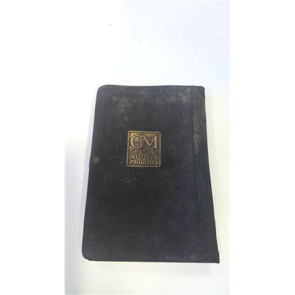 Vintage GM General Motors Manual Holder