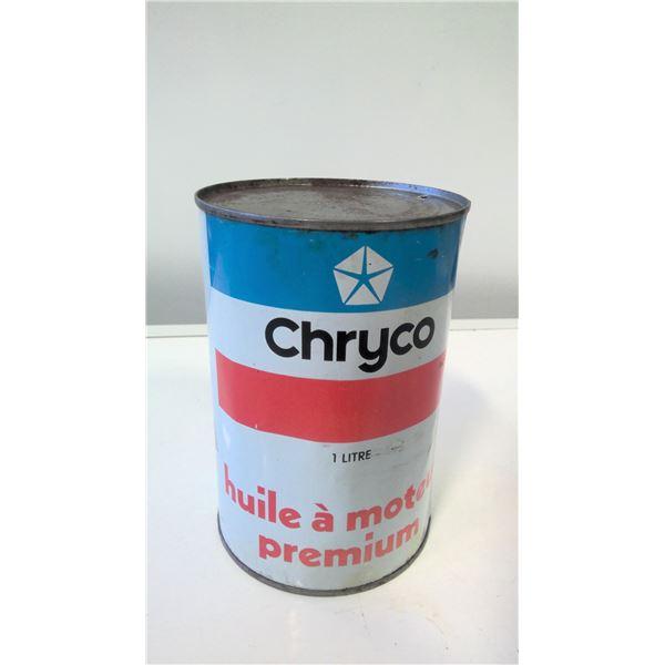 Chryco (Chrysler) 1L Oil Tin