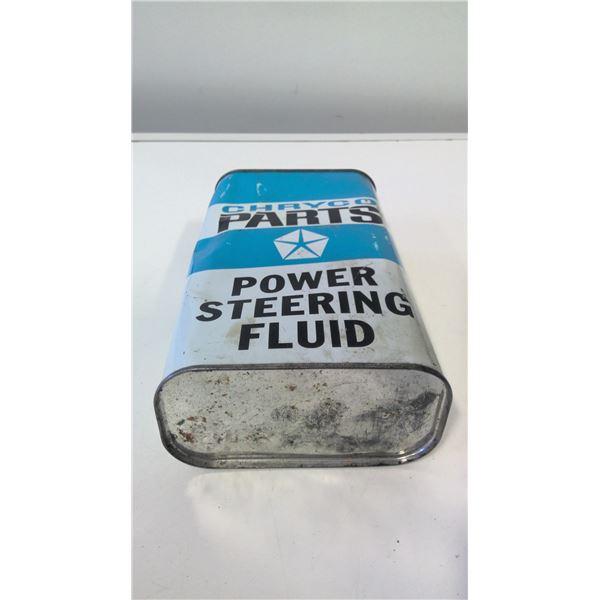 Chryco (Chrysler) Power Steering oil Quart tin
