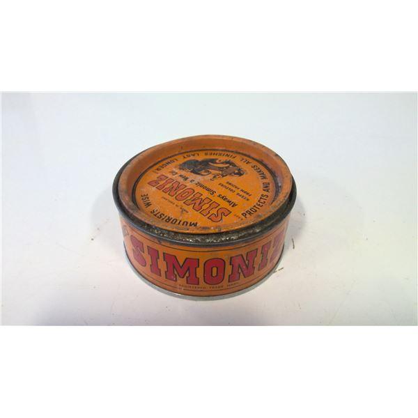 Very Old Simoniz Car Wax tin