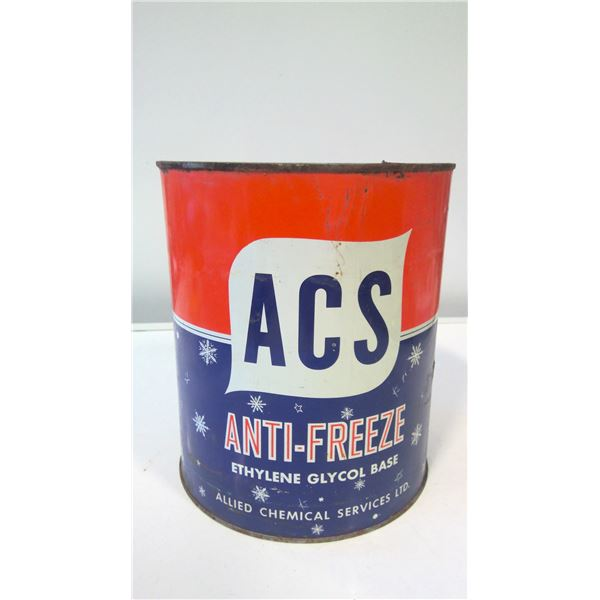 Allied Chemical Services (ACS) Anti-freeze tin