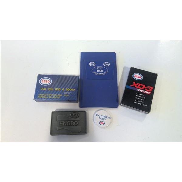 Lot of Esso Advertising Promotional Items