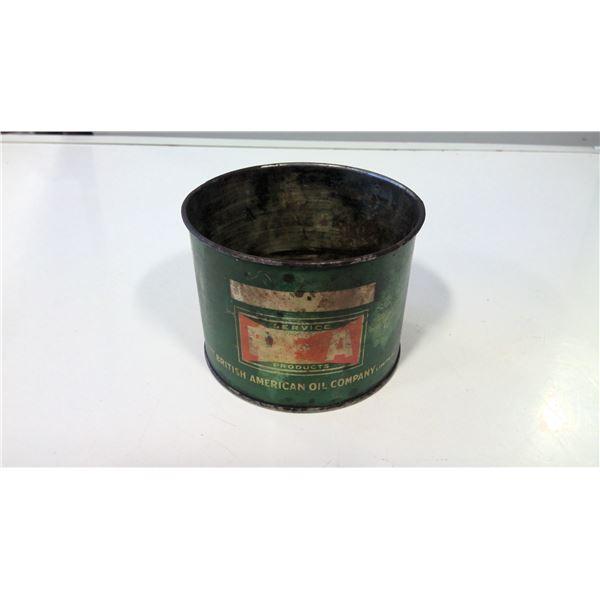 British American Oil Co. Pressure Grease tin