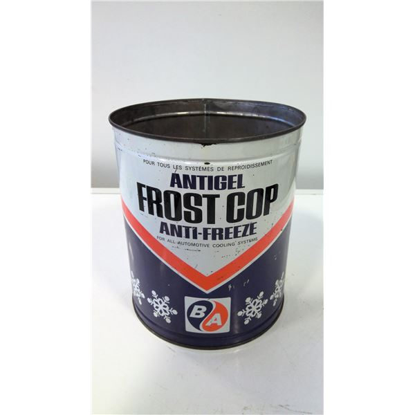 British American Oil Co. Frost cop Anti-Freeze Tin