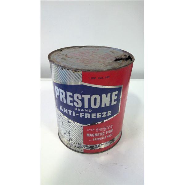 Prestone Anti-Freeze Tin (round)