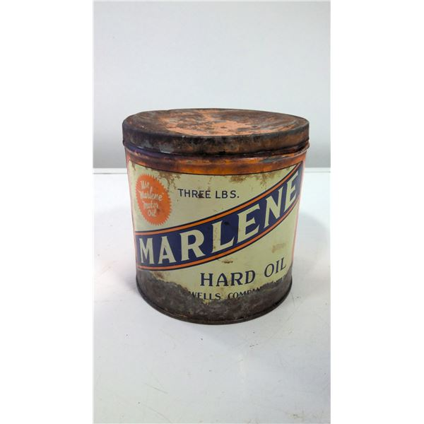 3LB Marshall Wells Marlene Hard Oil Tin