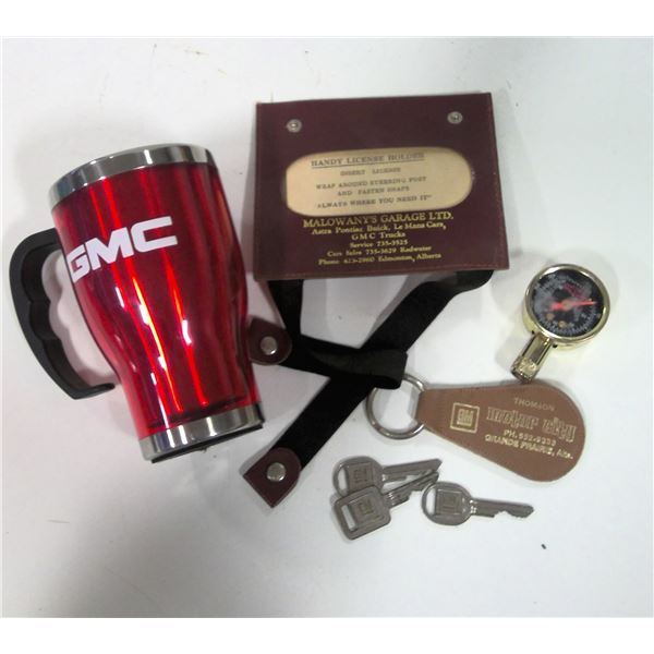 Lot of GM General Motors Promotional Items and Keys