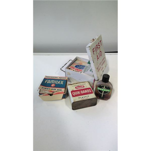Vintage First Aid Lot