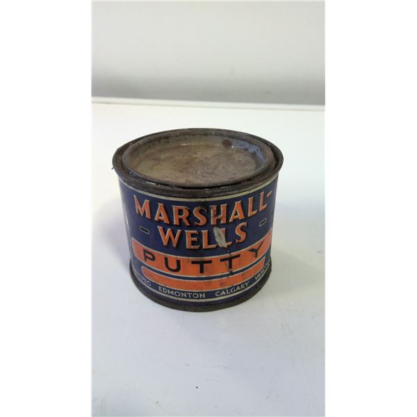 Marshall-Wells Putty Tin