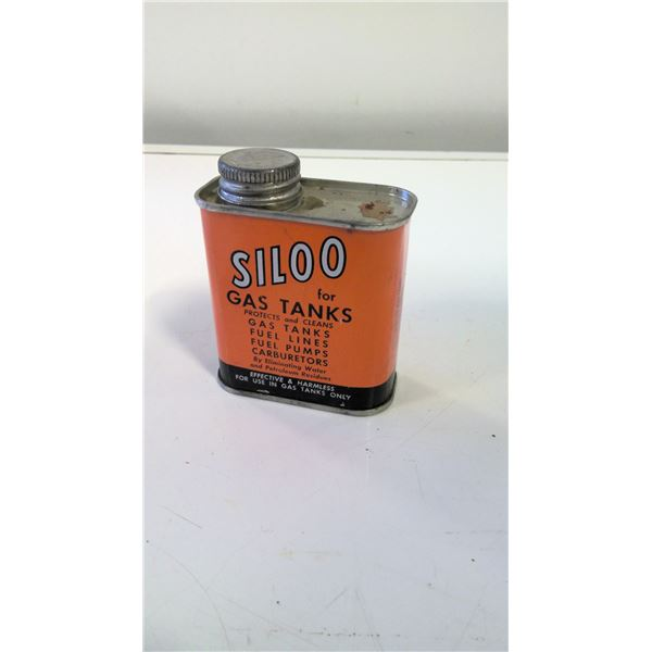 Siloo For Gas Tanks (vintage Candian tin)