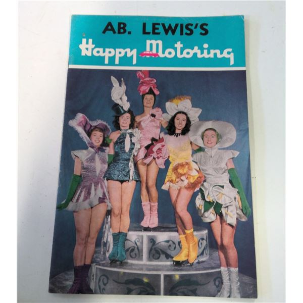 A.B. Lewis Happy Motoring Magazine Imperial Esso