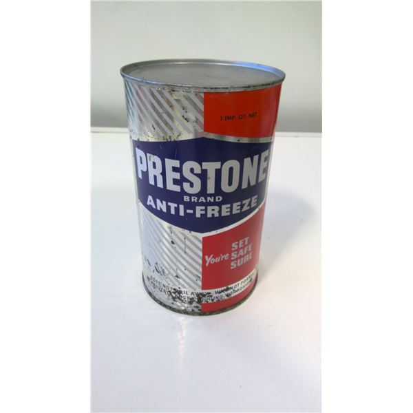 Prestone Anti-Freeze 1 Quart Tin