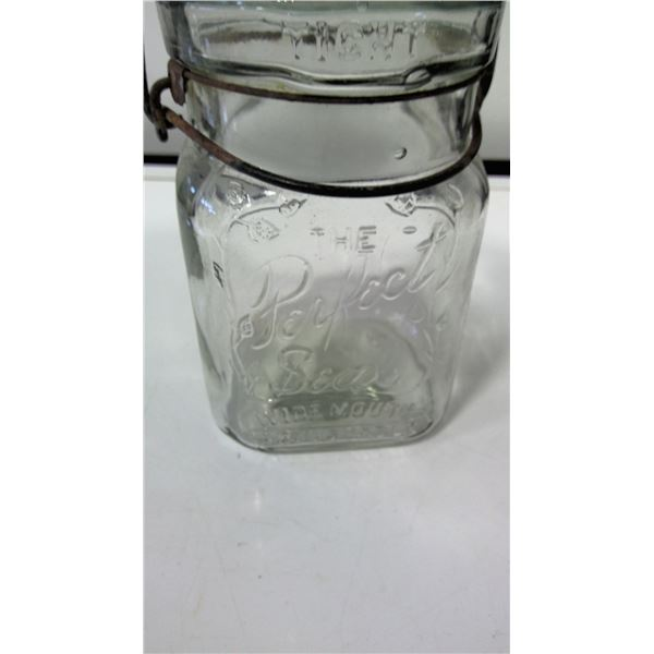 Vintage Smaller sized Perfect seal jar
