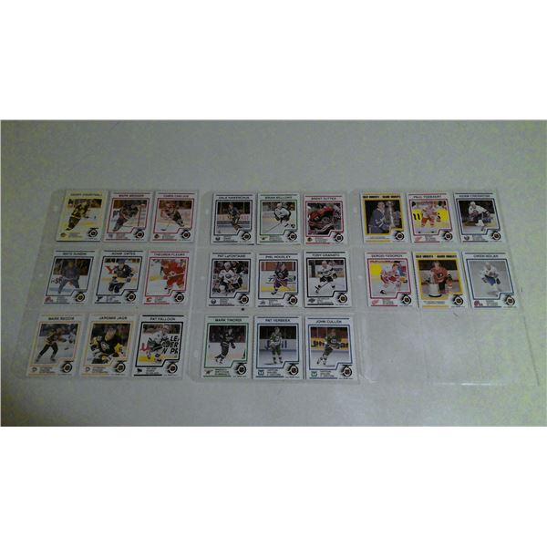 Large lot of 1991 Kraft Hockey cards
