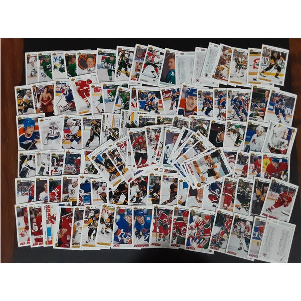 Large stack of unsearched 1992 Upper Deck Hockey Cards