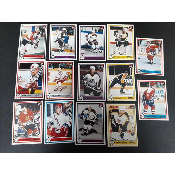 Lot of WHL and OHL 7th Inning Sketch 1991 Hockey cards