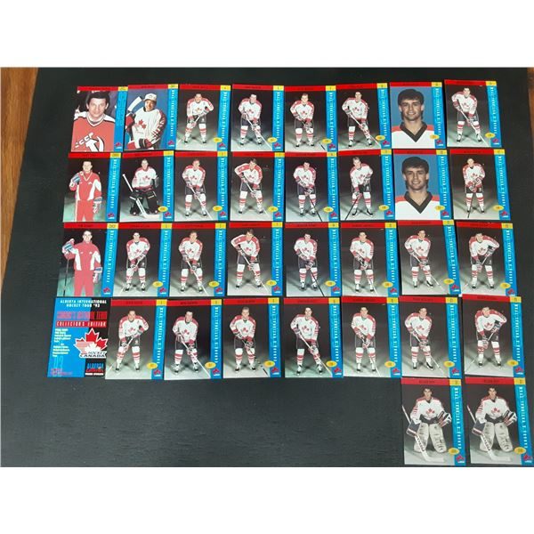 1993 Canada's National Team Collector Cards