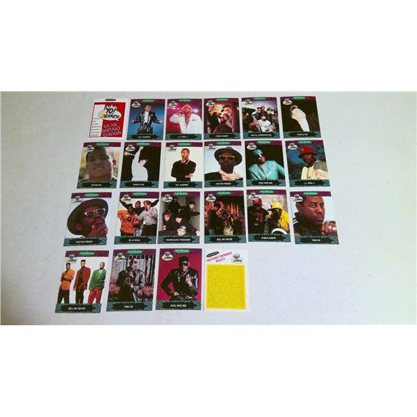Yo Raps 1991 MTV Pro Set cards