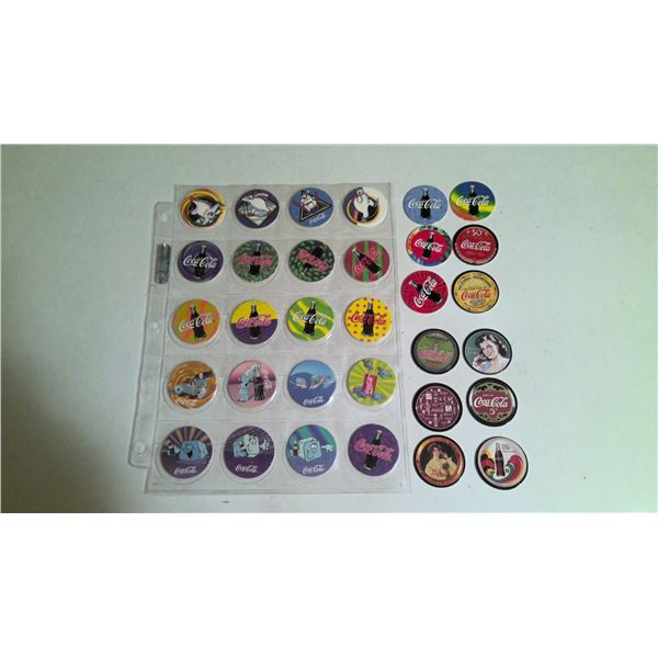 Lot of Coca Cola Collector POGs / Cards