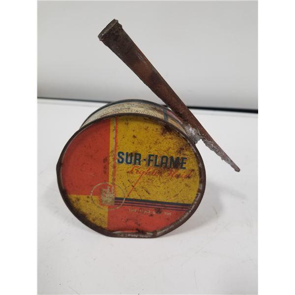 Rare Sur-Flame Starter Fluid tin