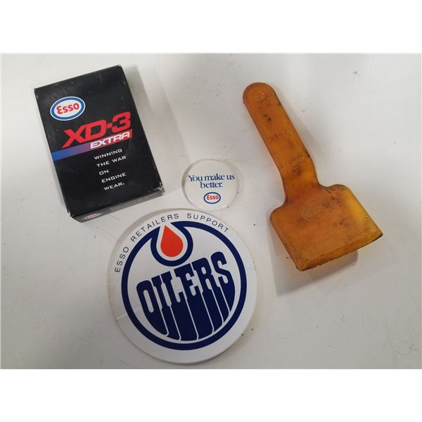 Lot of Vintage Esso Promotional items
