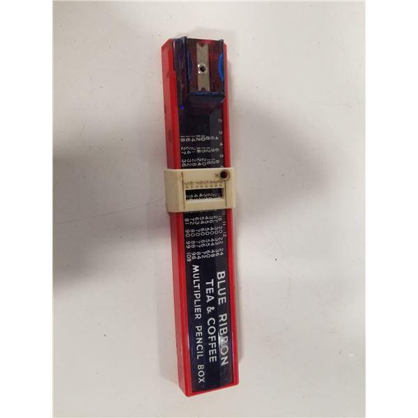 Blue Ribbon Tea & Coffee Multiplier Pencil Box