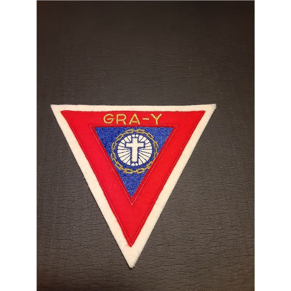 Vintage Calgary Alberta YMCA Patch