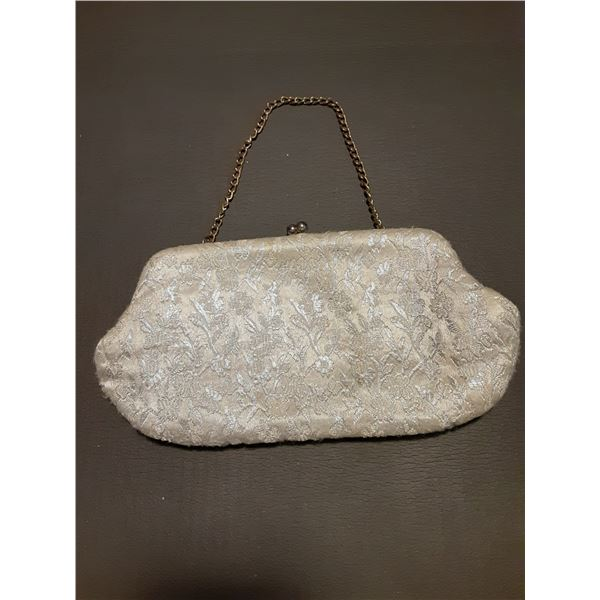 Vintage white Ladies Handbag