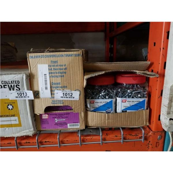2 CASES OF TRUSS SCREWS AND EPAN SMS SCREWS