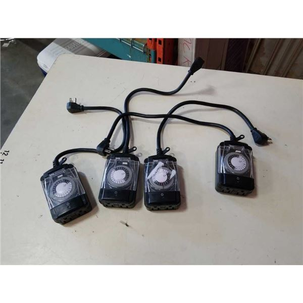 4 Prime outdoor electrical timers