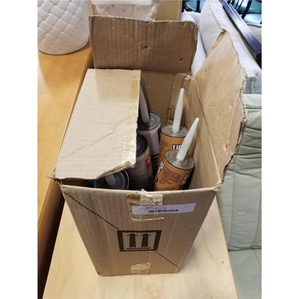 BOX OF TUBE ADHESIVE