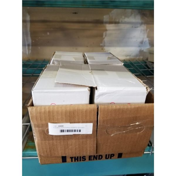 4 BOXES DISPOSABLE PLASTIC GLOVES
