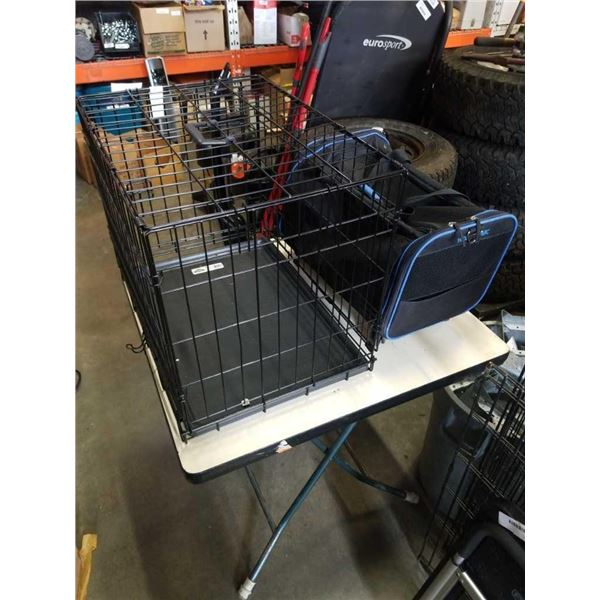 PET CRATE AND PET CARRY BAG