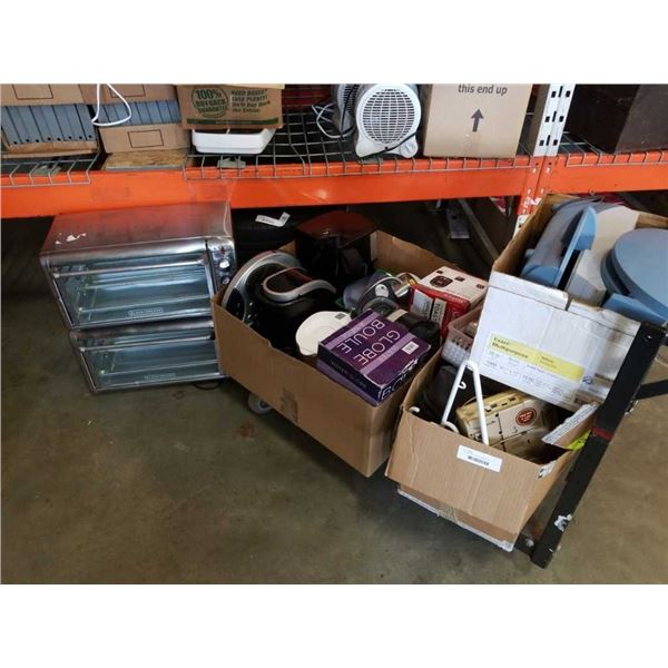 Lot of store return items and appliances