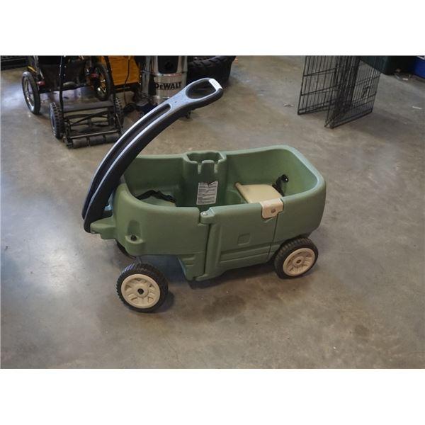 Green wagon