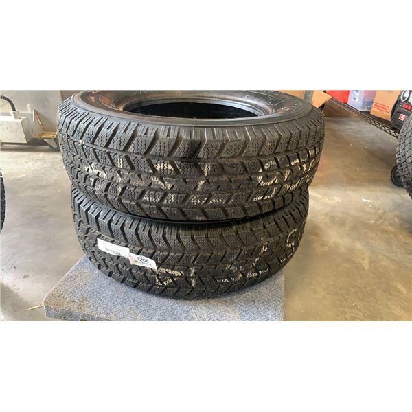 Pair of Champiro WT-75 205 70 R14 tires