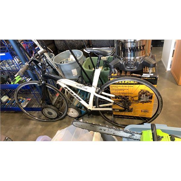 Black/ White KHS bike