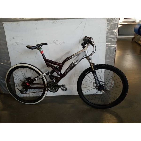 SILVER RED NORCO BIKE