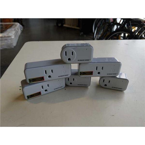 6 c e smart home wifi plugs