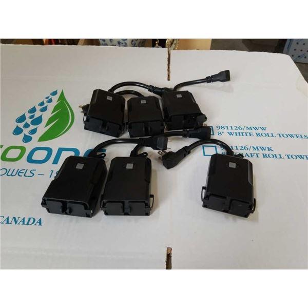 6 new Smart Wi-Fi indoor outdoor double plug splitters