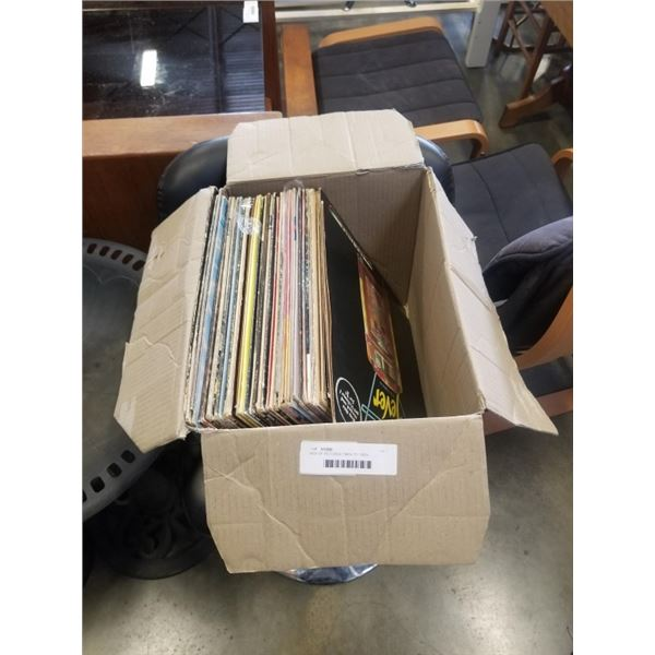 BOX OF RECORDS 1960s TO 1980s